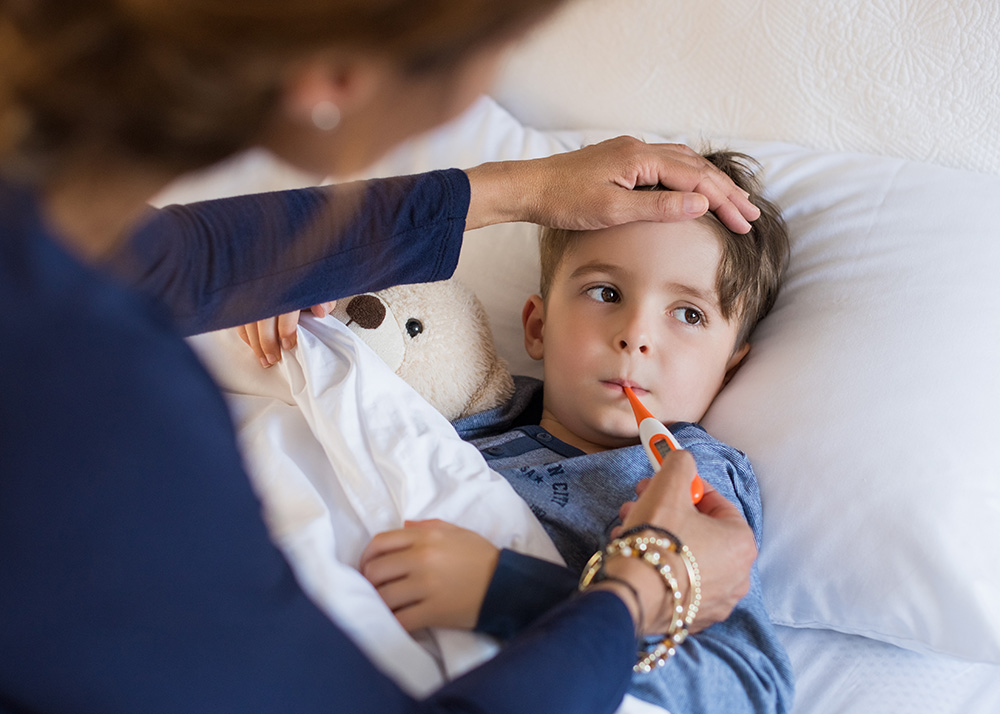 Sick Children Stay Home To Protect Others