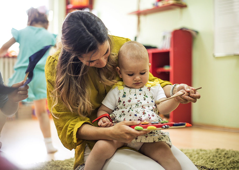 Your Baby's Teachers Are Trained And Vetted